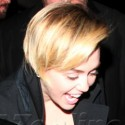 Miley Cyrus Parties in L.A.