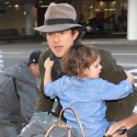 Orlando Bloom Is On Daddy Duty At LAX