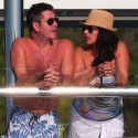 Simon Cowell And Lauren Silverman Snuggle Up In St. Barth