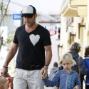 Liev Schreiber And Naomi Watts Take Their Kids Out Separately