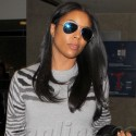 Gabrielle Union Looks Gorgeous At LAX