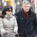 Alec Baldwin And His Flexible Wife Step Out In N.Y.C.