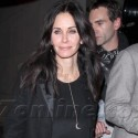 Courteney Cox And David Arquette Grab Dinner Together