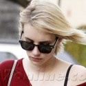 Emma Roberts Shows Off Her Pink Diamond Engagement Ring