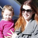 Alyson Hannigan And Her Hubby Take A Walk With Their Girls