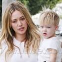 Hilary Duff Brings Son Luca Along On A Coffee Run