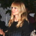 Heidi Klum Looks Smokin' Hot At The Chateau Marmont