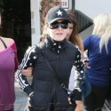 Madonna Heads To The Gym In Los Angeles
