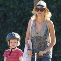 Naomi Watts And Liev Schreiber Take Alex And Sam To The Park