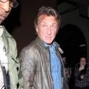 Sean Penn Grabs Dinner At Craig's