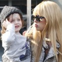 Rachel Zoe Steps Out With Son Skyler
