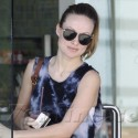 Pregnant Olivia Wilde Works Out