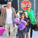 Angelina Jolie And Brad Pitt Bring The Kids Home To Hollywood