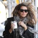 Gisele Bundchen Walks Around NYC
