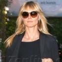 Newly Single Heidi Klum Is Down In The Dumps