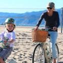Naomi Watts And Liev Schreiber Bike By The Beach