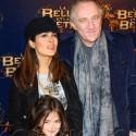 Salma Hayek And Hubby Francois-Henri Pinault Pose With Daughter Valentina