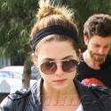 Ashley Benson Brunches With Her Boyfriend