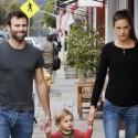 Alessandra Ambrosio And Husband Take Son On Errand Run