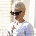 Pamela Anderson Goes Shopping At Barneys New York
