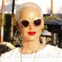 Amber Rose Grabs Brunch In West Hollywood