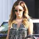 Ashley Tisdale Heads To The Hair Salon