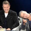 Matt Damon And George Clooney Promote <em>The Monuments Men</em>