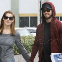 Ashley Greene And Boyfriend Get Lunch