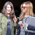 Shenae Grimes And Ashley Tisdale Eat At Toast