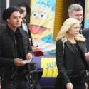 Gwen Stefani, Gavin Rossdale And The Boys Enjoy The Super Bowl