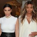 Kim Kardashian And Ciara Shop At Bel Bambini