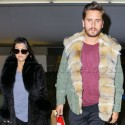 Kourtney And Scott Give A Send Off To Yeezus