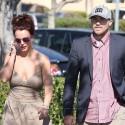 Britney Spears Lunches With Boyfriend David Lucado