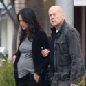 Bruce Willis Helps Pregnant Wife Cross The Street
