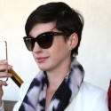 Anne Hathaway And Her Hubby Return From Miami