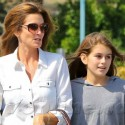 Cindy Crawford And Daughter Kaia Go Shopping