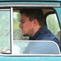 Channing Tatum Cruises In His Vintage Truck