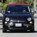 Mila Kunis And Ashton Kutcher Take A Ride In Her New Fiat