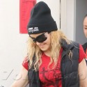 Madonna Is In A Good Mood After Her Workout