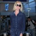 Rebecca Romijn Is A Jean Genie At LAX