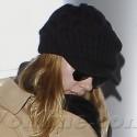 Scarlett Johansson Leaves LA All Covered Up