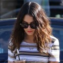 Vanessa Hudgens Grabs Lunch In West Hollywood