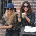 Vanessa Hudgens And A Pal Grab Coffee
