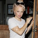 Pamela Anderson Does Dinner With Rick Salomon