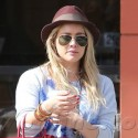 Hilary Duff Grabs Coffee In Beverly Hills