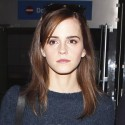 Emma Watson Lands At LAX