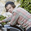 Harry Styles Hitches A Ride With A Tow Truck