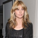Heidi Klum Jets Out Of Town