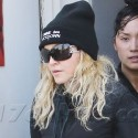 Madonna Heads To Pilates With Police Escorts