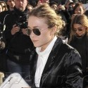 Mary-Kate Olsen Attends Louis Vuitton Fashion Show